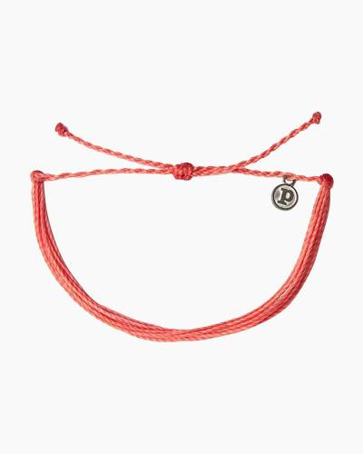 Classic Cord Bracelet in Coral