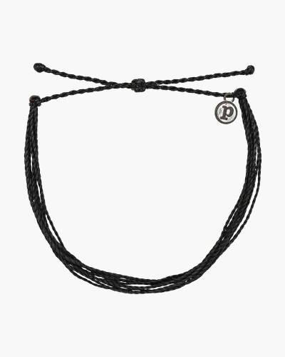 Classic Cord Bracelet in Black