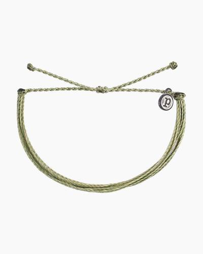 Classic Cord Bracelet in Sage Green