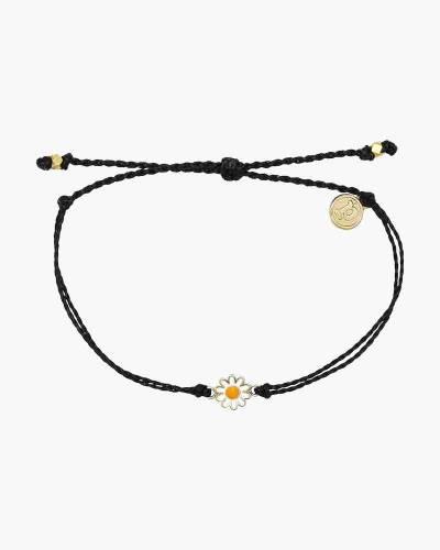Daisy Bracelet in Black
