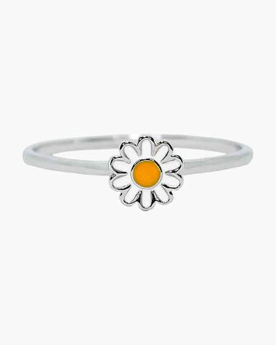 Daisy Ring in Silver