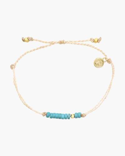 Heshi Beaded Bracelet in Vanilla