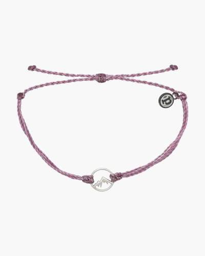 Silver Aspen Bracelet in Lavender