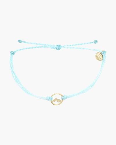 Gold Aspen Bracelet in Ice Blue