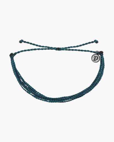 Classic Cord Bracelet in Mediterranean Green