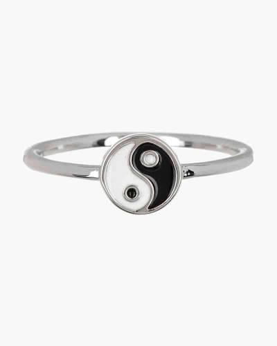 Yin Yang Ring in Silver