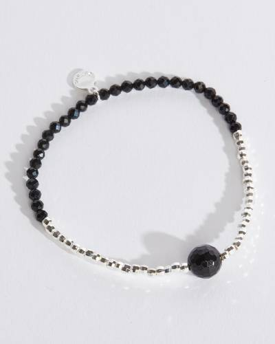 Power Gemstone Bracelet for Strength (Black Onyx)