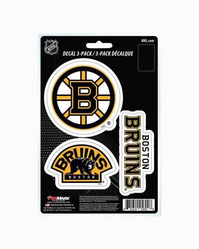 Boston Bruins Decal Trio