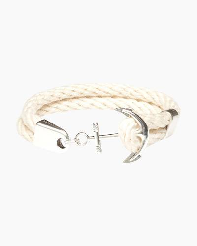 Anchor Bracelet in Ivory and Silver