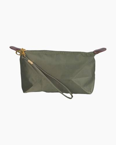Wristlet Zip Pouch in Olive