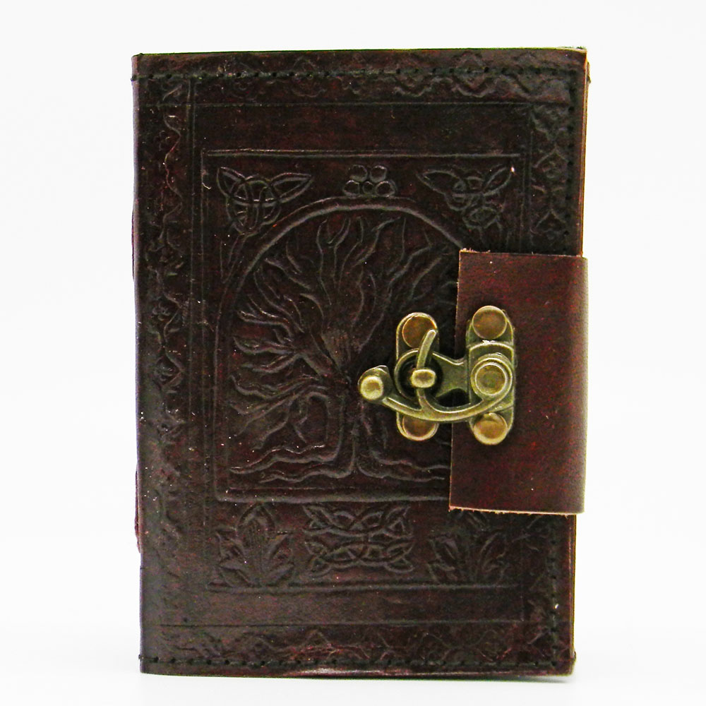 Fantasy Gifts Tree of Life Embossed Journal