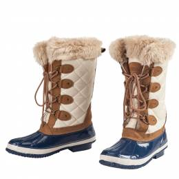 Khombu Quilted Winter Boots