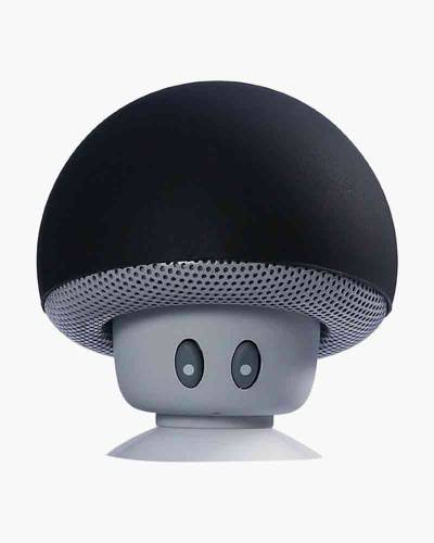 tuneSHROOM Wireless Speaker and Stand in Black