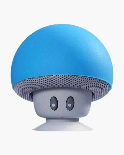 tuneSHROOM Wireless Speaker and Stand in Blue