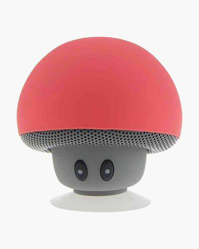 tuneSHROOM Wireless Speaker and Stand in Coral