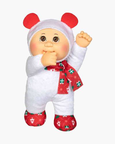 Snowflake Polar Bear Holiday Helpers Cabbage Patch Cutie Doll