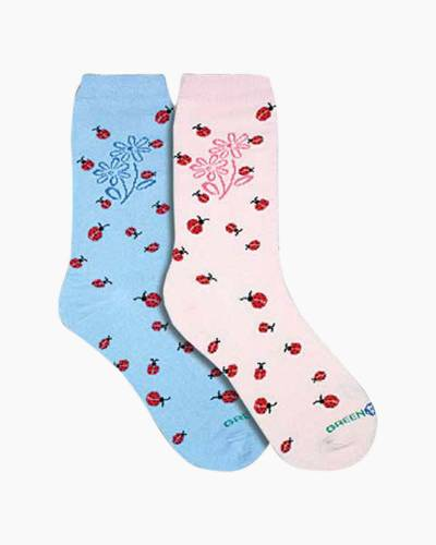 Happy Ladybug Women's Socks (Assorted)