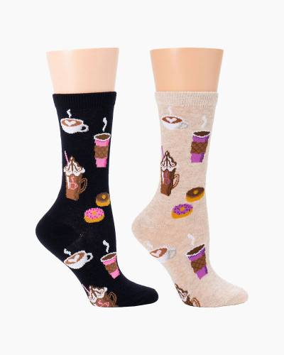 Coffee Shop Women's Socks (Assorted)