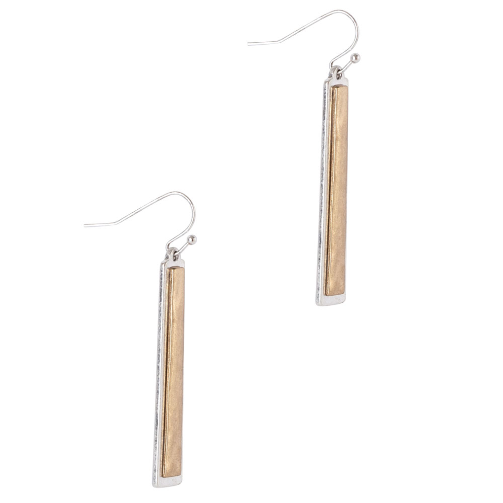 Mia and Tess Bar Earrings