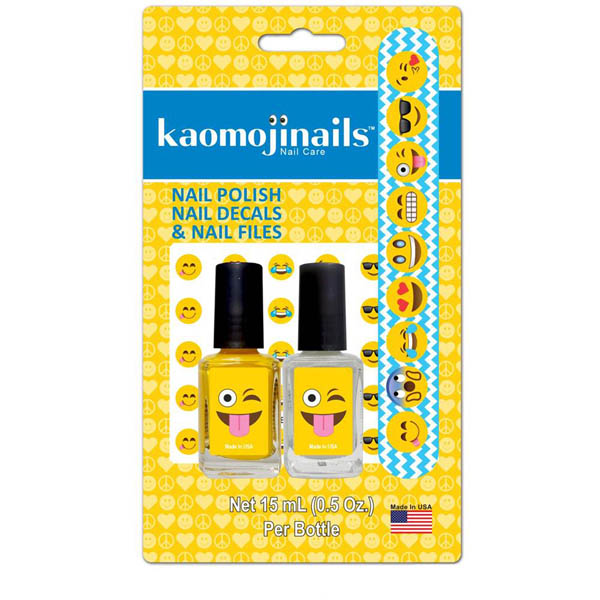 Top Trenz Emoji Nail Care Set