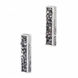 Mia + Tess Designs ™ Pave Bar Earrings