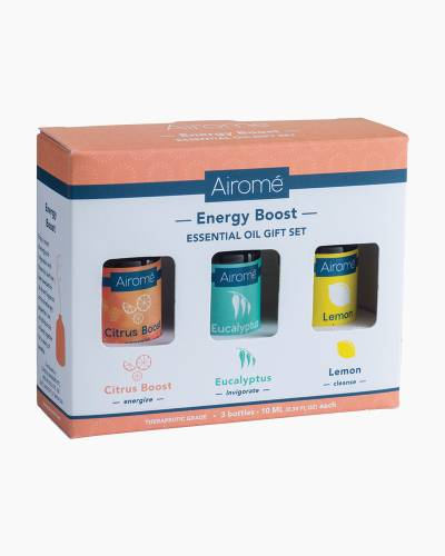 Citrus Boost, Eucalyptus, and Lemon Essential Oil Trio