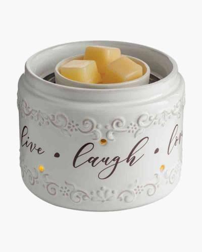 Live, Laugh, Love Illuminaire Fan Fragrance Warmer