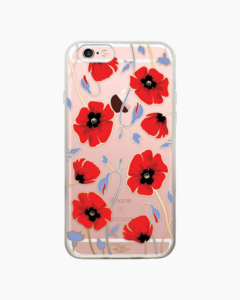 Zero Gravity Poppy iPhone 6/6S Case