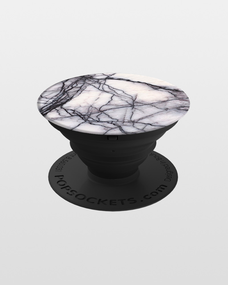 Popsockets Phone Grip in White Marble