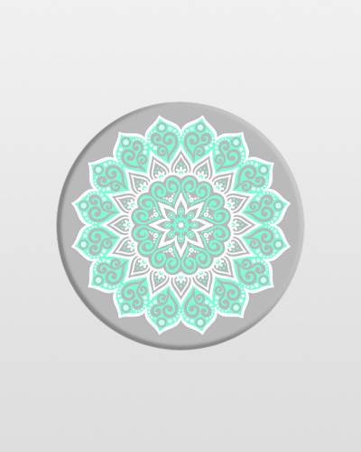 Phone Grip in Peace Mandala Tiffany