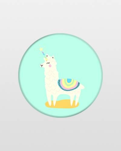 Llamacorn PopSockets Phone Grip