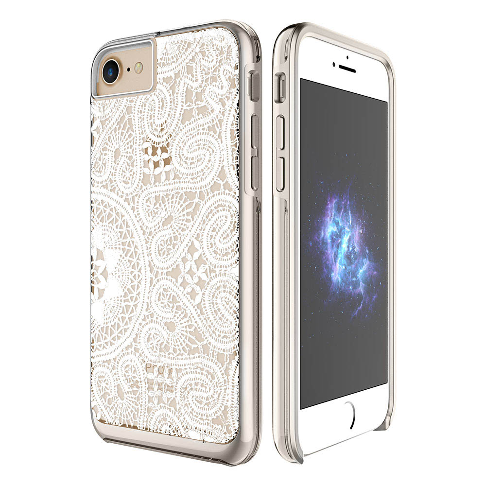Prodigee Show iPhone 7 Case in White Lace