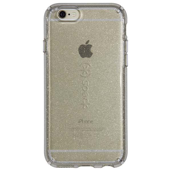 Speck Candyshell Clear Case for iPhone 6/6S in Gold Glitter
