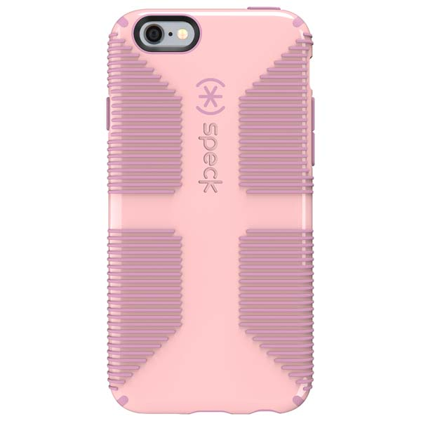 Speck Candyshell Grip Case for iPhone 6/6S in Quartz Pink and Pale Rose Pink
