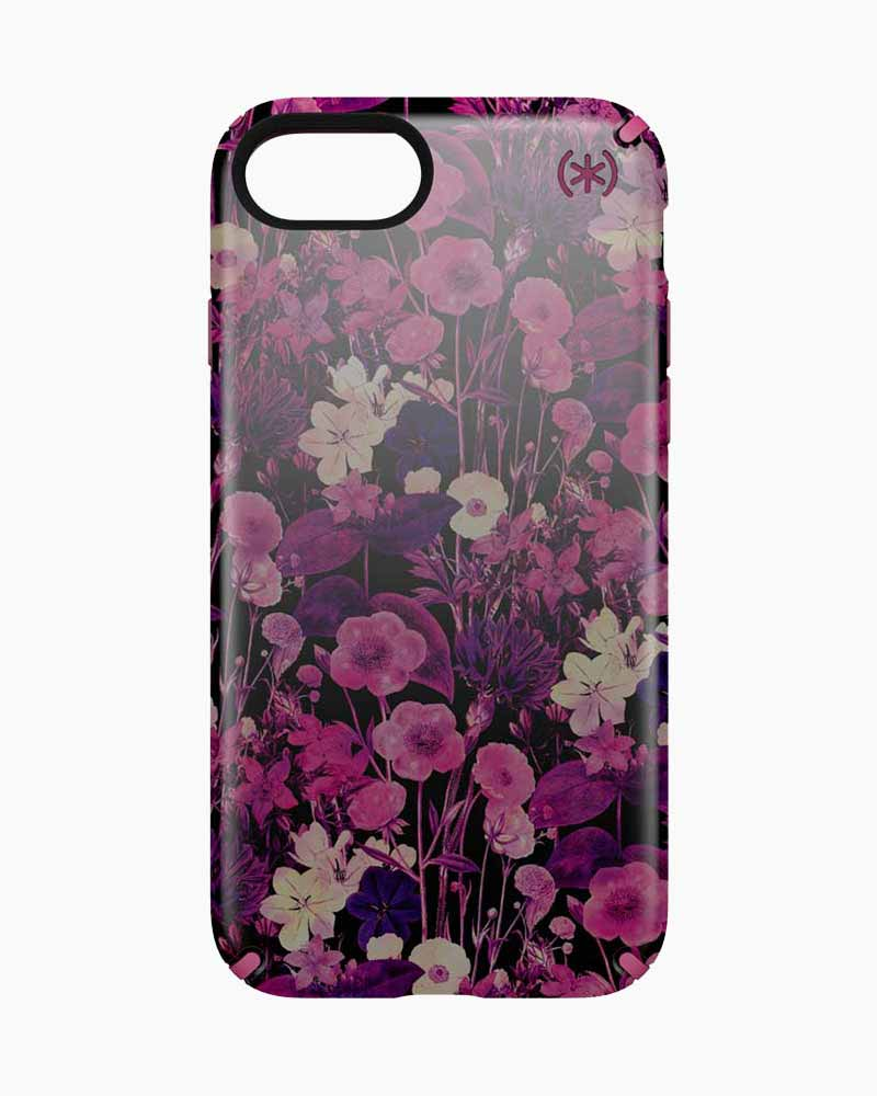 Speck Candyshell Inked Case for iPhone 7 in Magenta Flowers