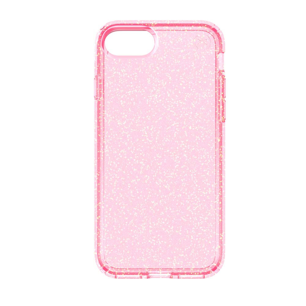 Speck Candyshell Clear Case for iPhone 7 in Pink Glitter
