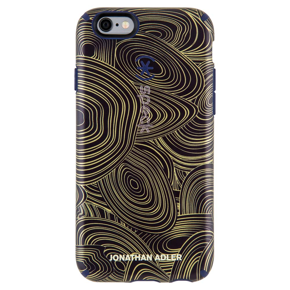 Speck Candyshell Inked Case for iPhone 6/6S in Malachite Black Gold