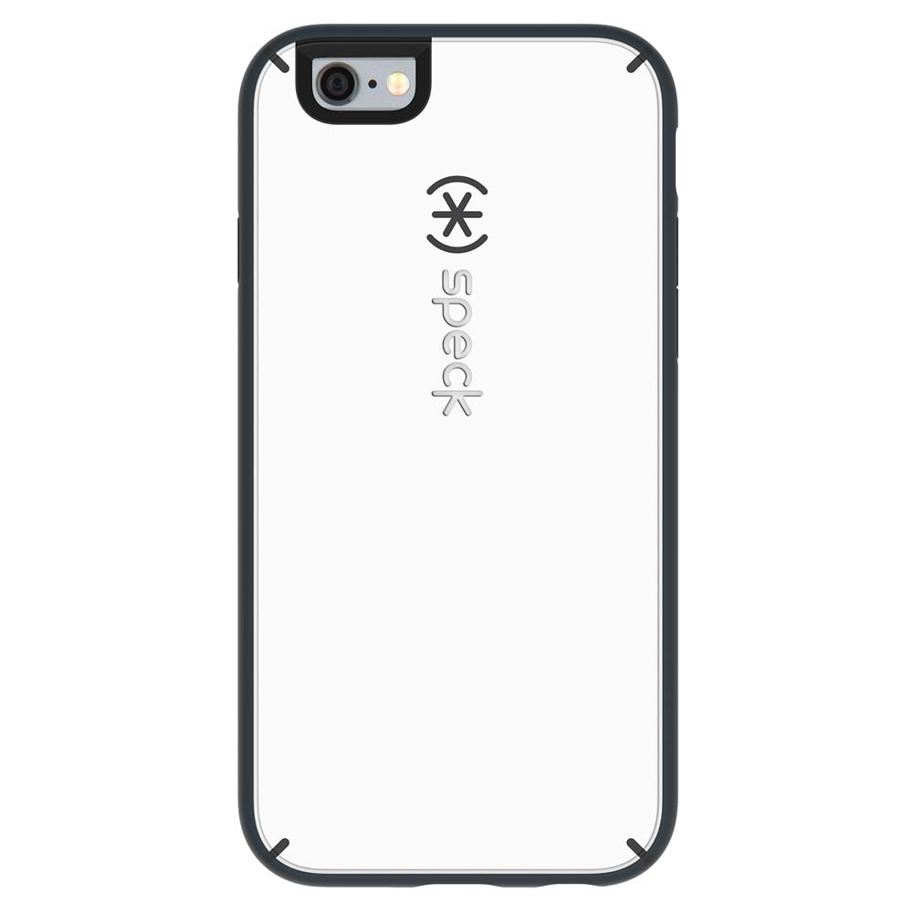 Speck Mightyshell Case for iPhone 6/6S in White and Charcoal Grey