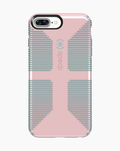 Candyshell Grip Case for iPhone 7 Plus in Pink and Blue