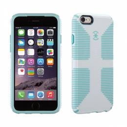 Speck Candyshell Grip Case for iPhone 6/6S in White and River Blue