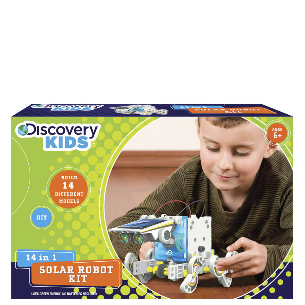 Discovery Kids 14-in1 Solar Robot Kit