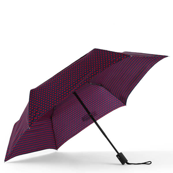 ShedRain WindPro Vented Fashion Auto Open and Close Compact Umbrella in Valentine