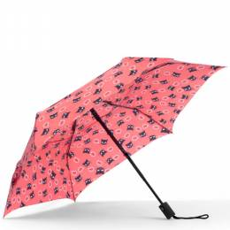 ShedRain WindPro Vented Fashion Auto Open and Close Compact Umbrella in Cat Talk