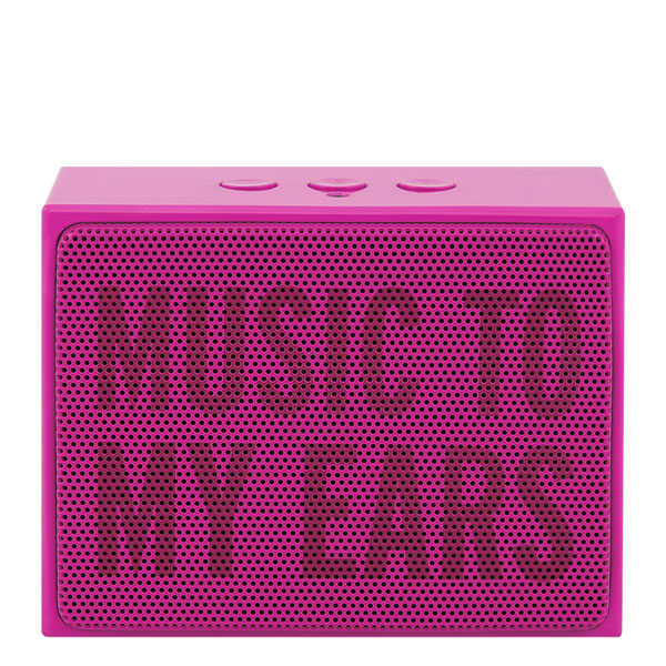 Kate Spade Music to My Ears Pink Portable Bluetooth Speaker