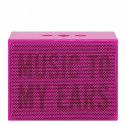 kate spade NEW YORK Music to My Ears Pink Portable Bluetooth Speaker