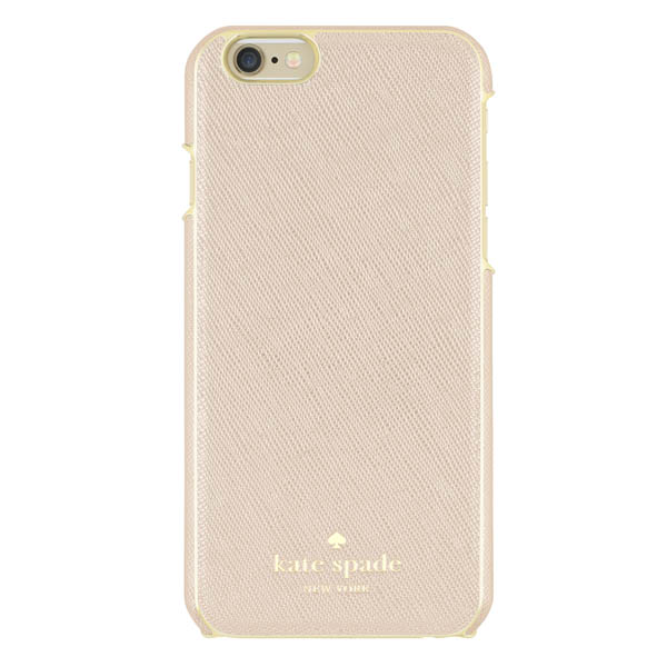 Kate Spade Rose Gold Saffiano Leather iPhone 6 and 6S Case