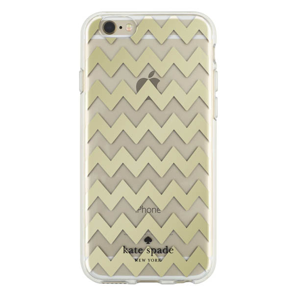Kate Spade Gold Zig Zag iPhone 6 and 6S Case