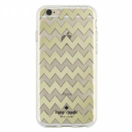 kate spade NEW YORK Gold Zig Zag iPhone 6 and 6S Case