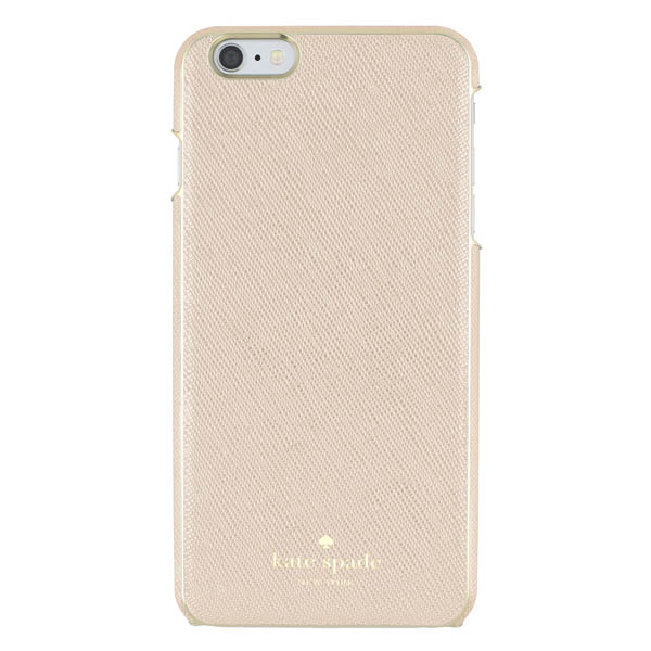 Kate Spade Rose Gold Saffiano Leather iPhone 6 Plus and 6S Plus Case