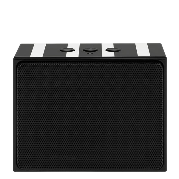 Kate Spade Black Stripes Portable Bluetooth Speaker